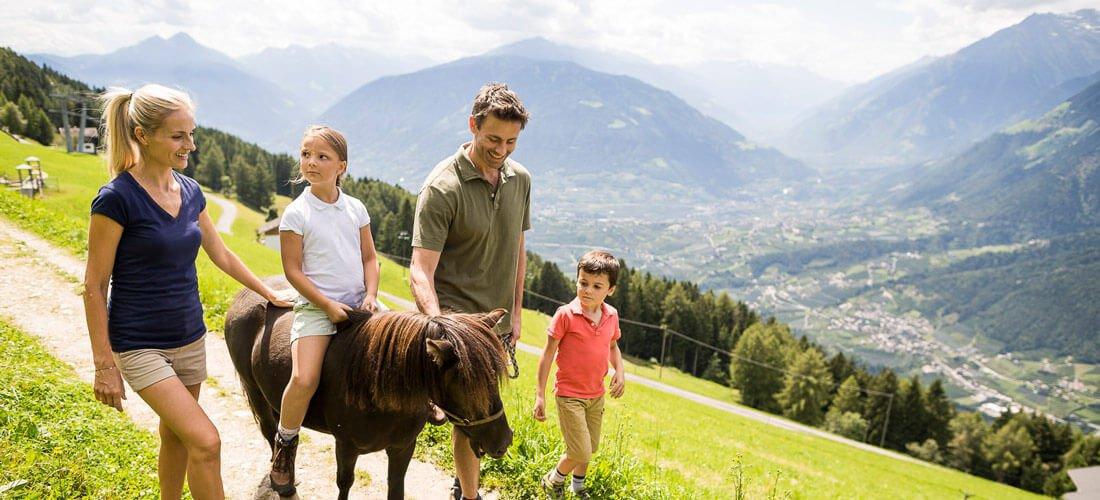 Ihr Urlaub wird zu einem Erlebnis in Schenna