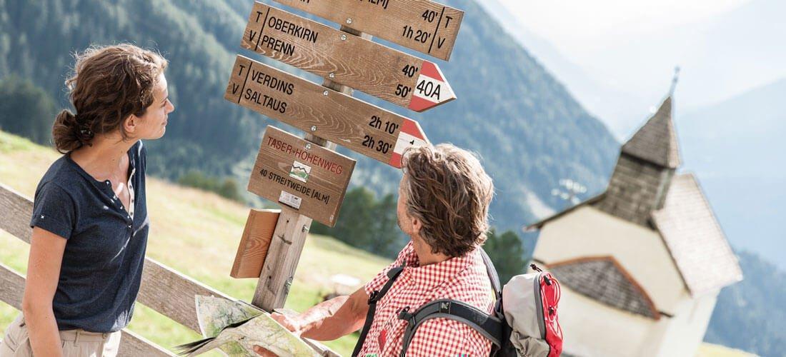 Wundervolle Herbstlandschaft für Ihren Wanderurlaub in Schenna bei Meran