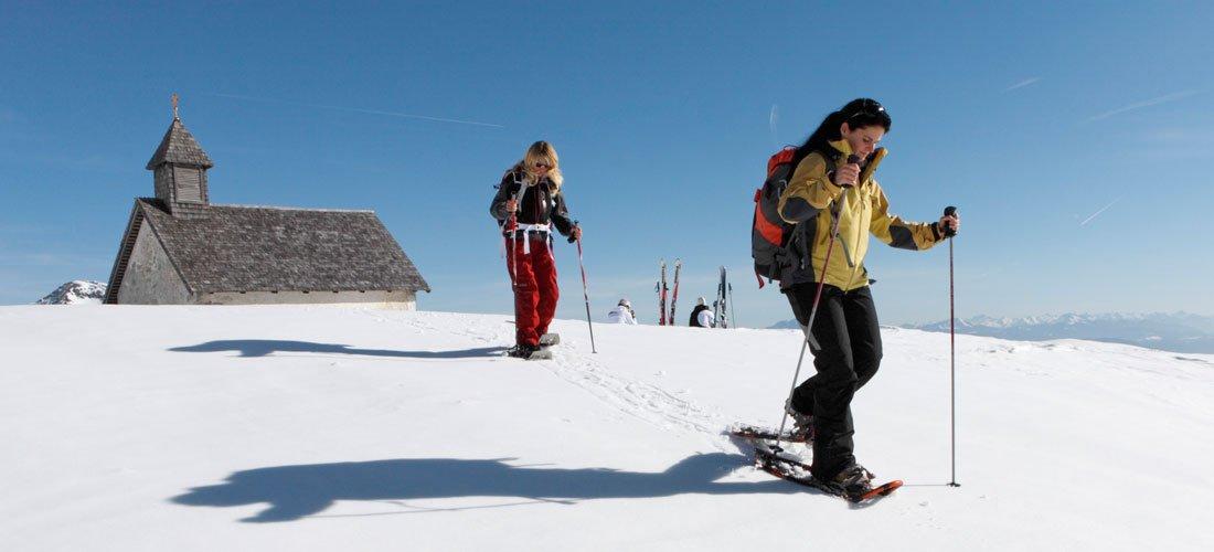 Si può fare escursionismo in inverno?