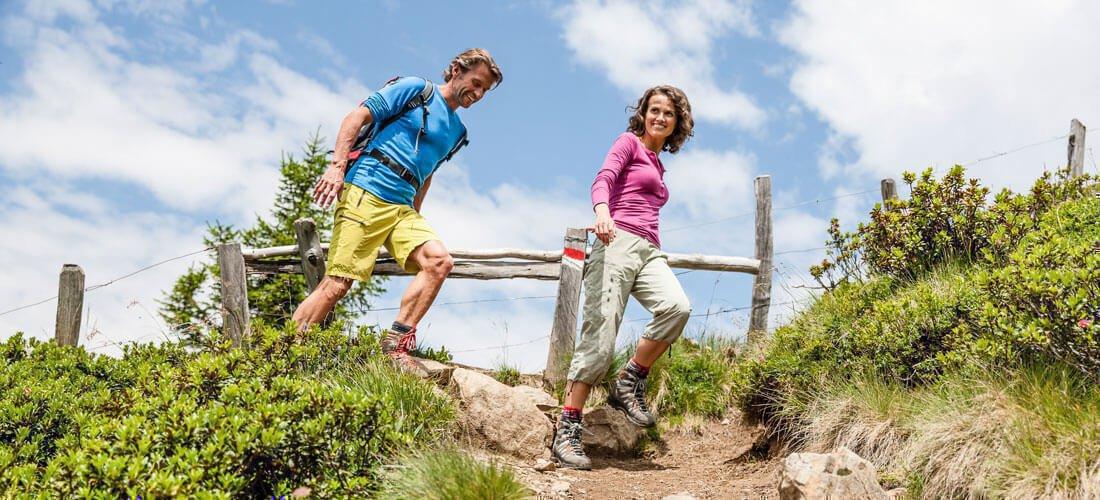 Ideale Angebote für einen aktiven Urlaub bei Meran
