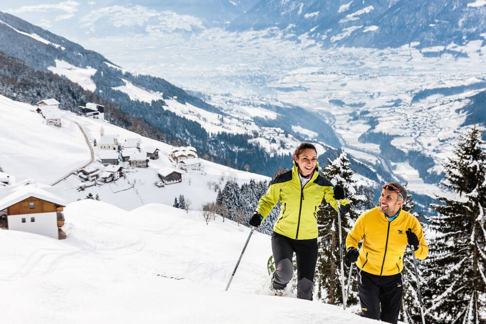 Bella vacanza sulla neve vicino a Merano